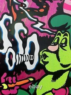 Jeff Grosso C&D Santa Cruz Skateboard Deck Pink Alice in Wonderland