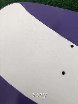 Jeff Grosso Enjoy Deck Tribute Skateboard Deck Screened Purple