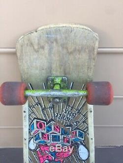 Jeff Grosso Ragdoll skateboard Deck Schmitt Stix Power Peralta threes Motobilt