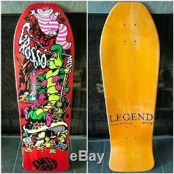 Jeff Grosso Skateboard Deck C&D Santa Cruz Cease and Desist Alice in Wonderland