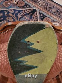 Jeff Grosso Vintage Skateboard Deck Santa Cruz Not A Reissue