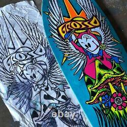 Jeff grosso Forever skateboard deck 1989 reissue by black Label skateboards 2021