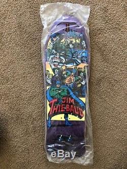 Jim Thiebaud C&D Cease and Desist Skateboard SMA Natas 101 Joker Batman Deck