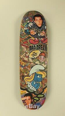 John Montesi New Deal Slick Bad Dream Skateboard Deck WestSide Blind World 101