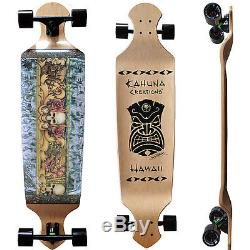 Kahuna Creations Island Lifestyle 43 Drop-deck Longboard Skateboard