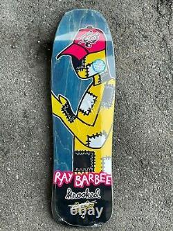 Krooked Ray Barbee Rag Doll Redux Art Gonz 9.5 Old School Shape Skateboard Deck