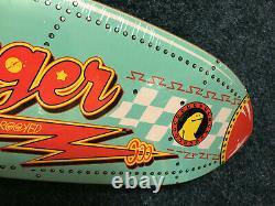 Krooked Rocket Ship Zip Zinger Skateboard Deck. Rare. Mark Gonzales. Gonz