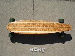 Longboard/skateboard 35 Custom Hardwood Deck Seismic 9 1/2 45 Degree Trucks