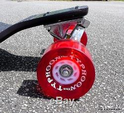 LONGBOARD Skateboard Drop Down Downhill Hybrid Complete 11 layers deck cruiser