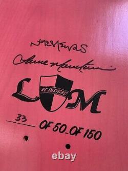 Lance Mountain and Natas Kaupas Skateboard Deck 33 Of 150 RARE