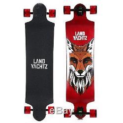 Landyachtz Switch 40 Longboard Complete Skateboard. Dropped deck freeriding