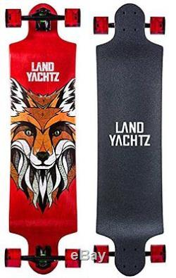 Landyachtz Switch 40 Longboard Complete Skateboard. Dropped deck freeriding