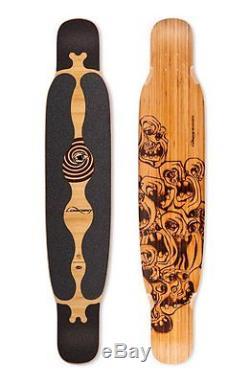 Loaded Bhangra Flex 1 Longboard Skateboard Deck With Black Grip Tape