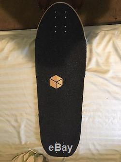 Loaded Carbon Truncated Tesseract Longboard Deck Brand New