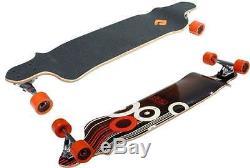 Longboard Drop Deck Skateboard Complete Maple Deck 41Inch By Atom Longboards