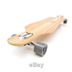 Longboard Skateboard Complete Deck Bamboo Maple Wood 41 Inch Mayhem By Whitewave