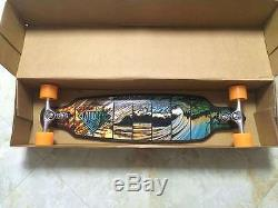 Longboard Skateboard Complete Deck Drop Through Freeride 36 Black By Sector 9