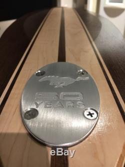 Longboard Skateboard MUSTANG LOGO