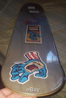 MARVEL COMICS Captain America Screaming Hand SANTA CRUZ Skateboard Deck. RARE New