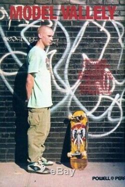 MIKE VALLELY POWELL PERALTA skateboard deck GONZ Hawk Hosoi vision SMA Natas
