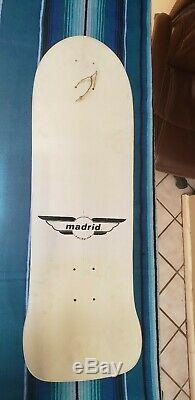 Madrid Bill Danforth Vintage Misfits skateboard deck. Original, not a reissue