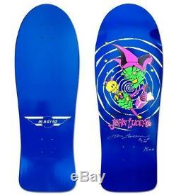 Madrid John Lucero JESTER AUTOGRAPHED Skateboard Deck BLUE