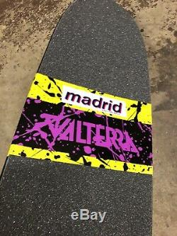 Madrid Valterra Back to the Future Marty McFly Scuff Old school skateboard Deck