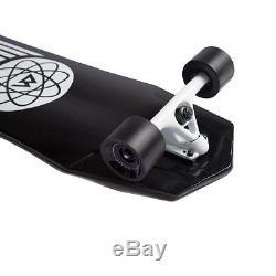 Magneto Longboards Carbon Fiber Downhill Cruiser W Concave Deck