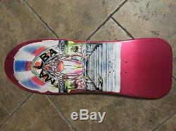 Malba Dogtown skateboard nos mint pink deck Santa Cruz vintage punk