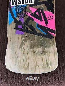 Mark Gonzales Original Vintage 80's Vision Skateboard Deck Never Skated