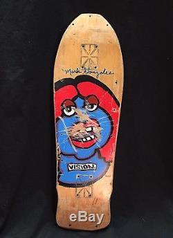 Mark Gonzales Vision Skateboard Deck Vintage Powell Peralta Blind