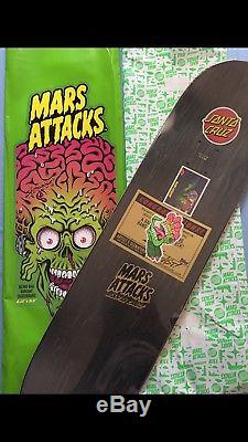 Mars Attacks Santa Cruz Rarity Level Your Brain Explodes Custom Artist Beast 1/1
