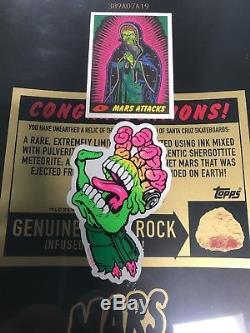 Mars attacks Santa Cruz skateboard deck Maid of Mars only 250 made rare IN HAND