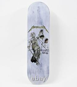 Metallica And Justice For All Skateboard Deck