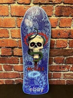 Mike McGILL Bones Brigade Blue Series 10 Powell Peralta Old School COA #577/2000