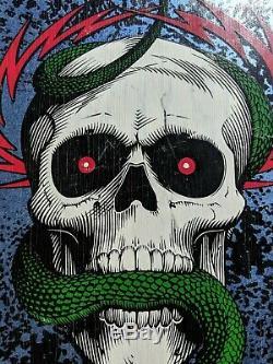 Mike Mcgill Skull and Snake NOS Vintage OG Powell Peralta Skateboard Deck