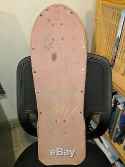 Monty Nolder Skateboard Deck Schmitt Stix Alva Powell Sims Vintage OS