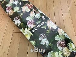 NEW Supreme Power Corruption Lies PCL Floral Cruiser Skateboard Deck