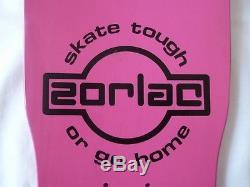 NOS 1986 Zorlac Gargoyle Pushead Skateboard Deck Vintage