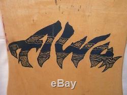 NOS 1988 Alva Eddie Reategui Skateboard Deck Vintage