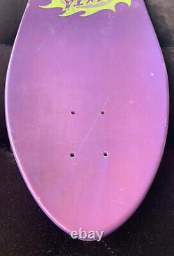 NOS 1988 Santa Cruz Jason Jessee Sun God Vintage Skateboard Deck Neptune Natas