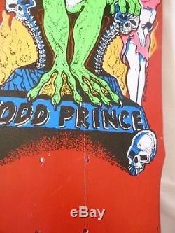 NOS 1988 Zorlac Todd Prince Skateboard Deck Vintage
