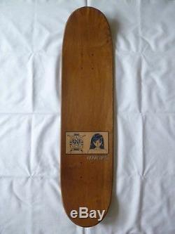 NOS 90s Hook Ups Jeremy Klein Skateboard Deck Vintage (1)