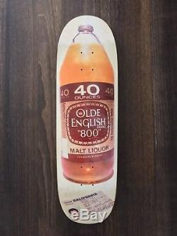 NOS Blind Rudy Johnson 40oz Vintage Skateboard