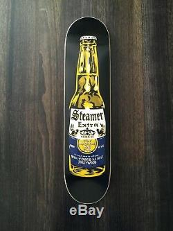 NOS Elissa Steamer Toy Machine skateboard RARE