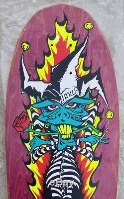 NOS Lucero 12XU Vintage Skateboard Deck 1989 John schmitt stix black label