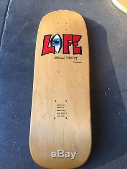 NOS Mint 1991 Rare Sean Sheffey LIFE EyE Vintage Skateboard Deck 90s