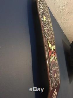 NOS OG Mint Santa Cruz Rob Roskopp Blacktop Face Skateboard Deck