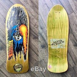 NOS OG Vintage Santa Cruz Corey OBrien Reaper skateboard Deck