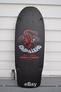 NOS Powell Peralta Steve Caballero stinger skateboard deck pig black dip
